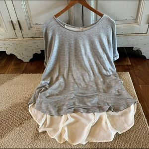 Women's High Low Tunic Top